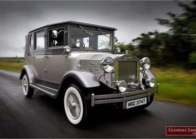 1930s Style Silver Imperial Landaulette