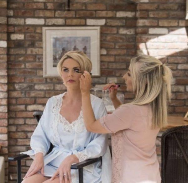 Julie Toal bridal make up