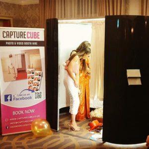 Capture Cube Black Gloss Photobooth