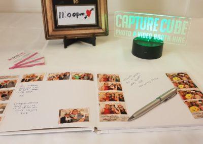 Capture Cube Guest Book