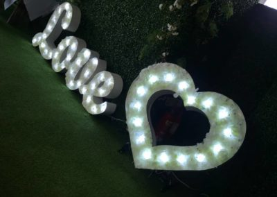 2ft Scripted Love Letters
