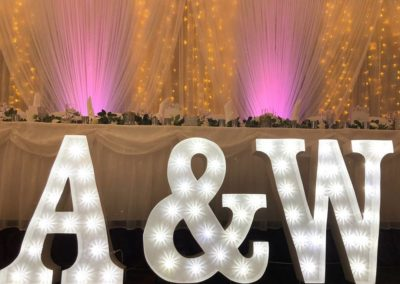 Letters In Lights NI