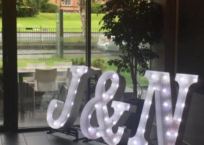 Initials - Marquee Style